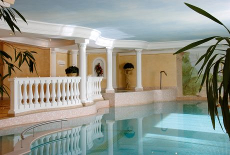 JOSK Arabba Hotel Evaldo zwembad wellness