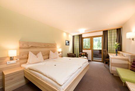 JOSK Saalbach hotel Leonhard kamer