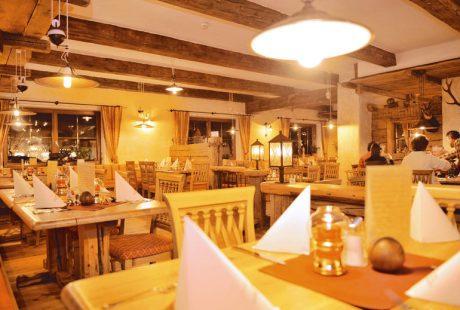 JOSK Flachau Hotel Bergzeit restaurant