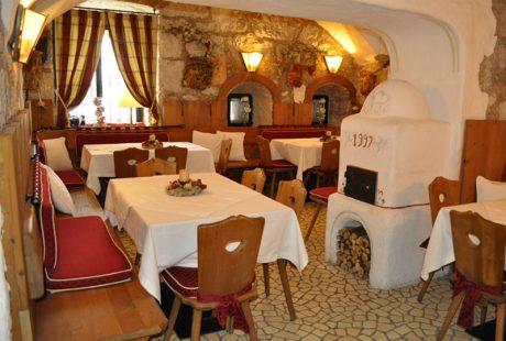 JOSK Al Forte Festungshotel Arabba restaurant eetzaal