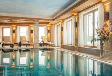 JOSK Ischgl Galtür Huber Hotels Fluchthorn zwembad wellness