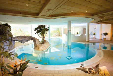 JOSK Ischgl Galtür Wirlerhof Almhof Huber Hotel zwembad sauna wellness